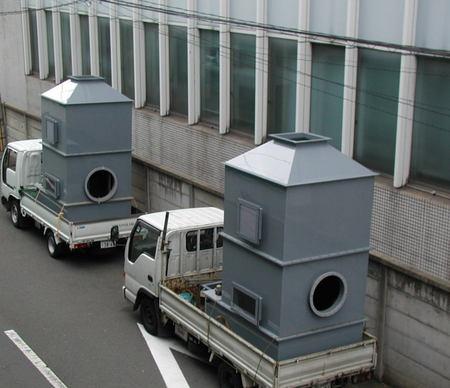 メッキ設備ー排ガス洗浄装置